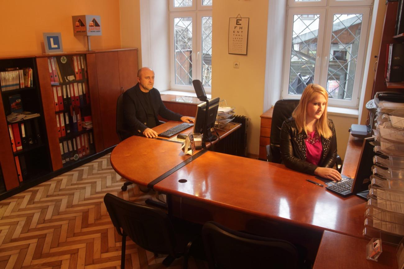 biuro w krakowie osk jantar