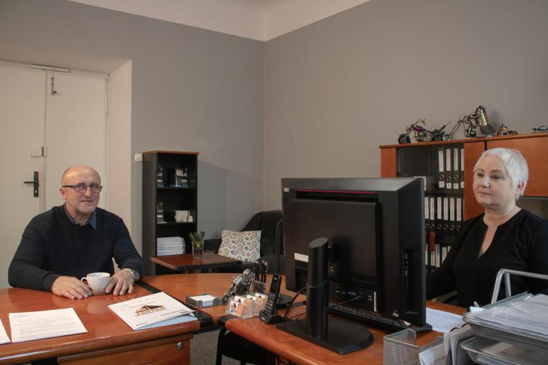 Biuro i sala wykładowa