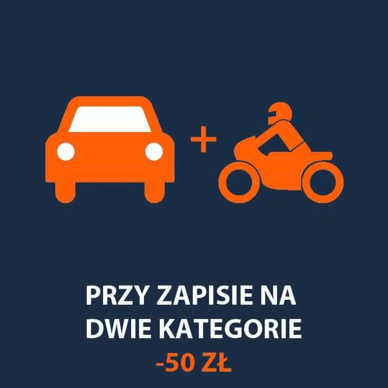 dwie kategorie prawo jazdy
